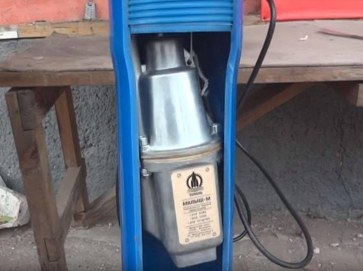 Проблема: застрял насос в скважине