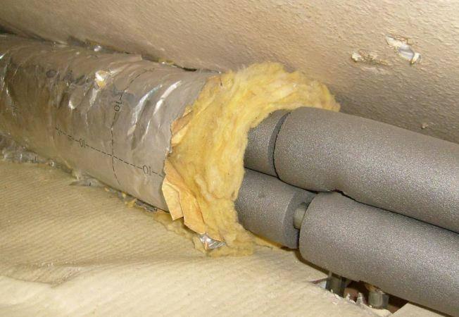 Как утеплить водопроводные трубы в частном доме своими руками: работы и материалы