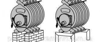Устройство и принцип работы печи булерьян