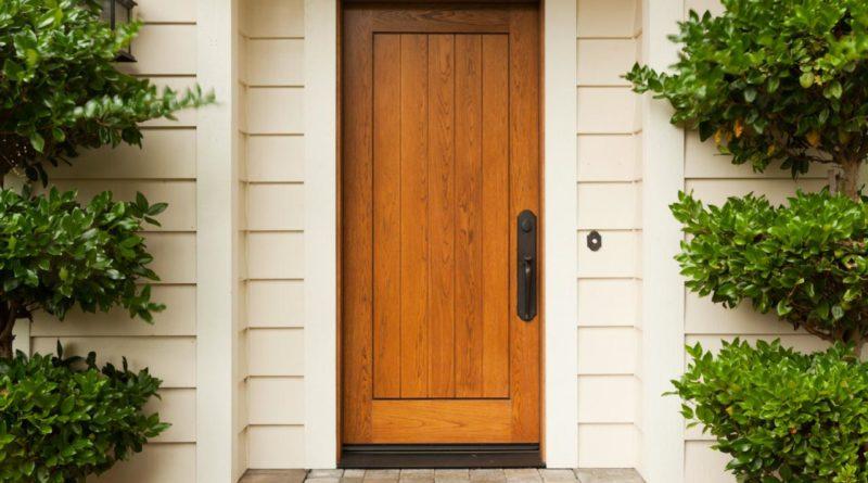 Утепление входных деревянных дверей для частного дома своими руками