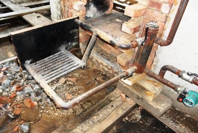 Отопительная печь с теплообменником своими руками - не так всё сложно, как кажется