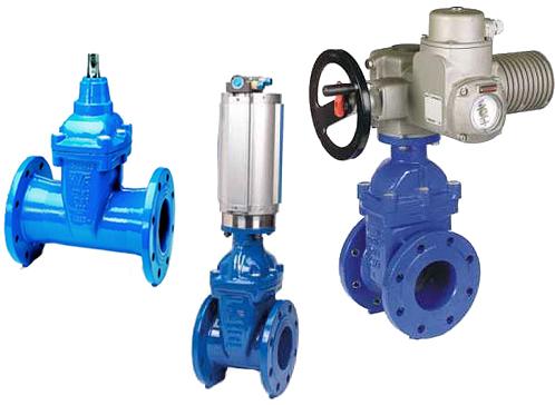 Виды запорной арматуры для водопроводных систем