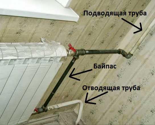 Байпас в системе отопления - что это такое и для чего он нужен? диаметр и установка
