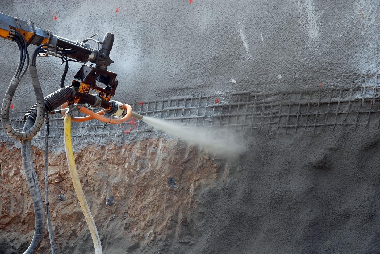 Метод заделки трещин в бетоне – торкетирование