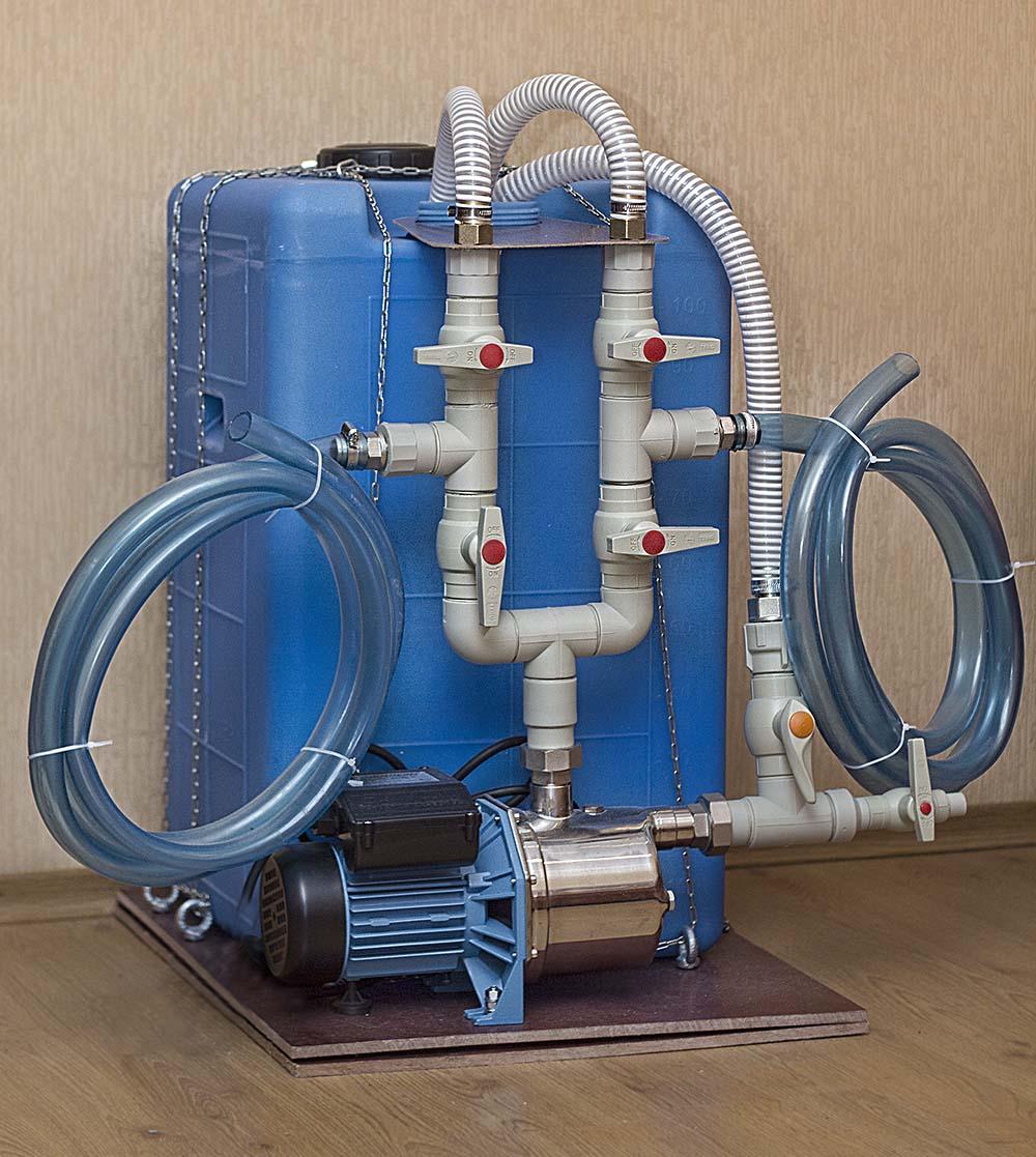 Бустер для промывки теплообменников своими руками - всё об отоплении и кондиционировании