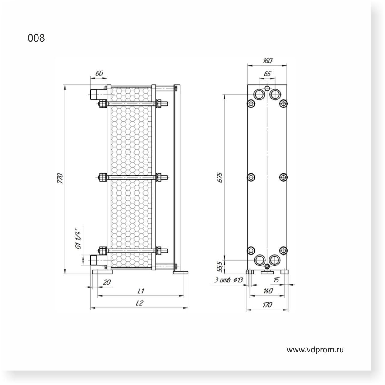 Пластинчатый теплообменник: устройство, виды и принцип действия