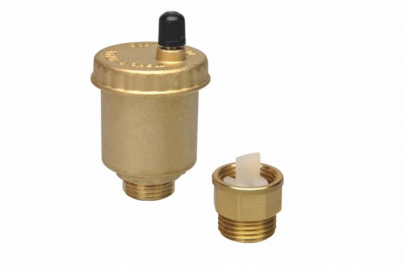 Принцип работы автоматического воздухоотводчика в системе отопления, их виды, установка
