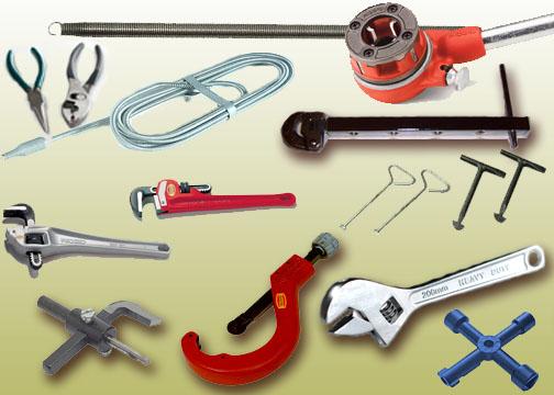 Инструмент для сантехника: перечень, описание. инструменты для сантехнических работ