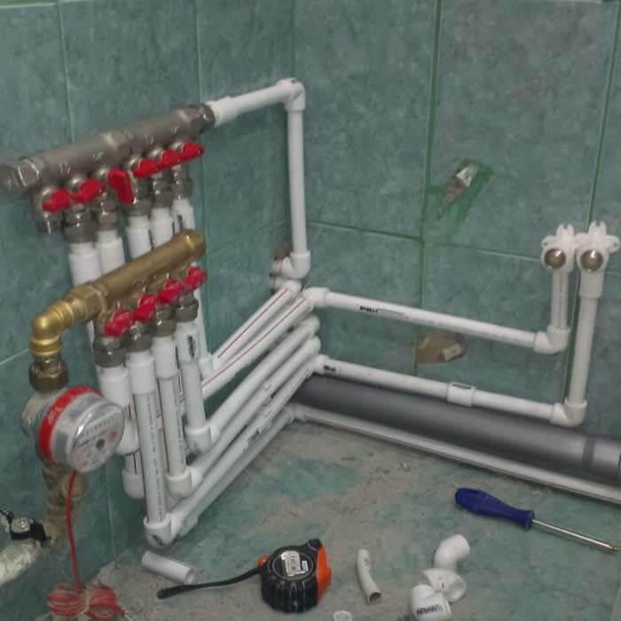 Допускается или нет использование трубопроводов центрального отопления с использованием полипропилена