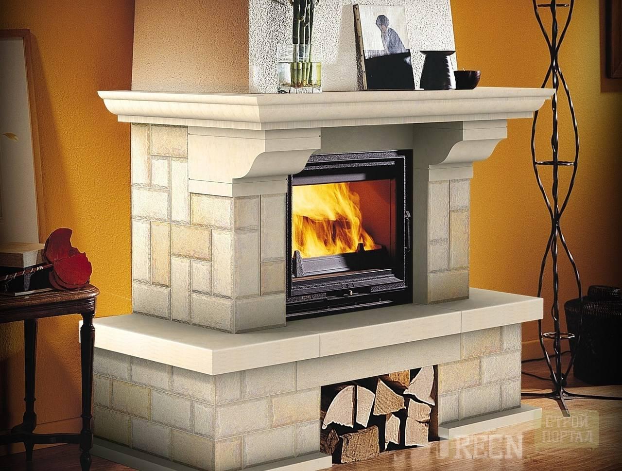 Термостойкий клей для плитки на печь или камин - как выбрать?