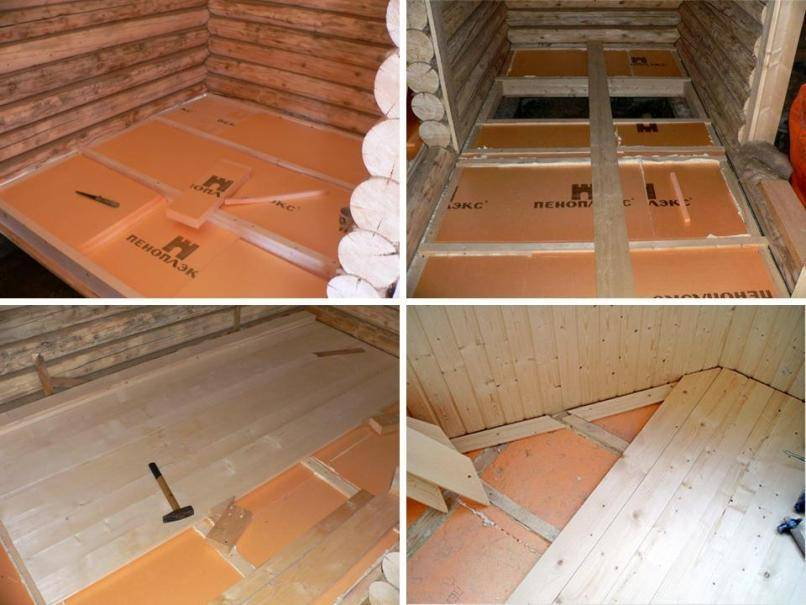 Утепление пола в частном доме: утепляем своими руками деревянный и бетонный пол на даче