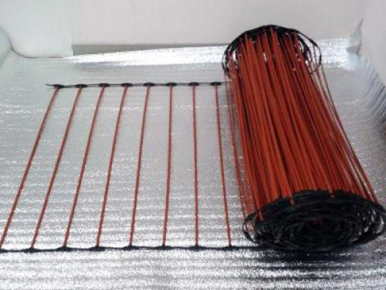 Карбоновый теплый пол: пленочный и стержневой, порядок монтажа своими руками