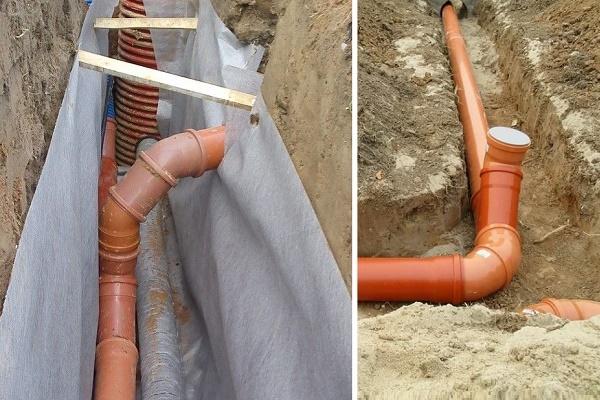 Утепление канализационных труб своими руками