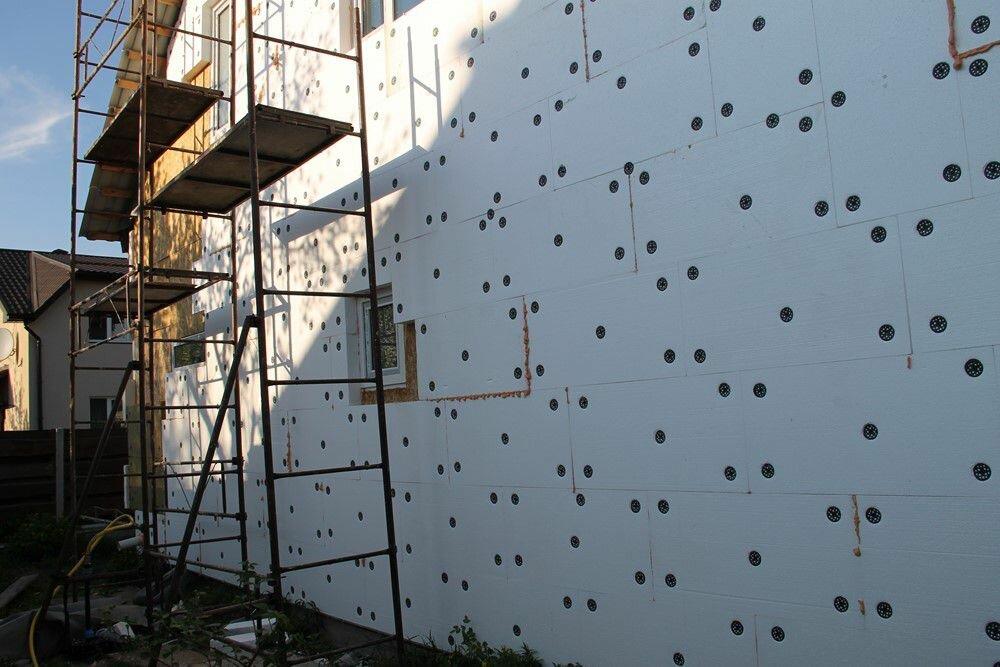 Нюансы технологии утепления фасада пенопластом