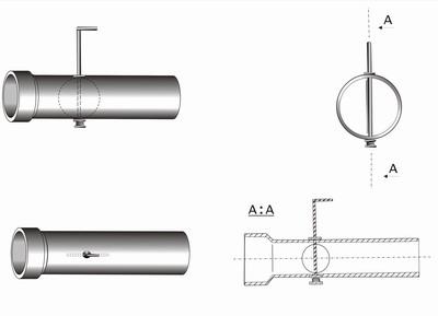 Зачем нужен шибер для дымохода и как его сделать самостоятельно?