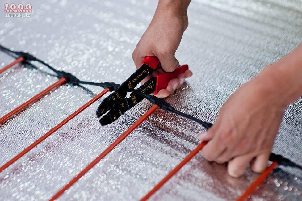 Использование карбонового теплого пола для обогрева помещения