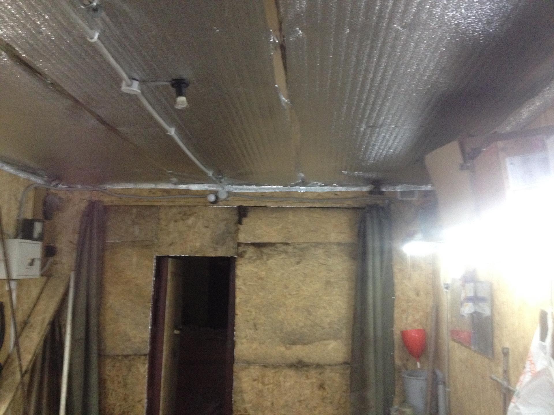 Как утеплить потолок в гараже. минеральная вата. полимерные, стекловолокнистые утеплители. пеноизол