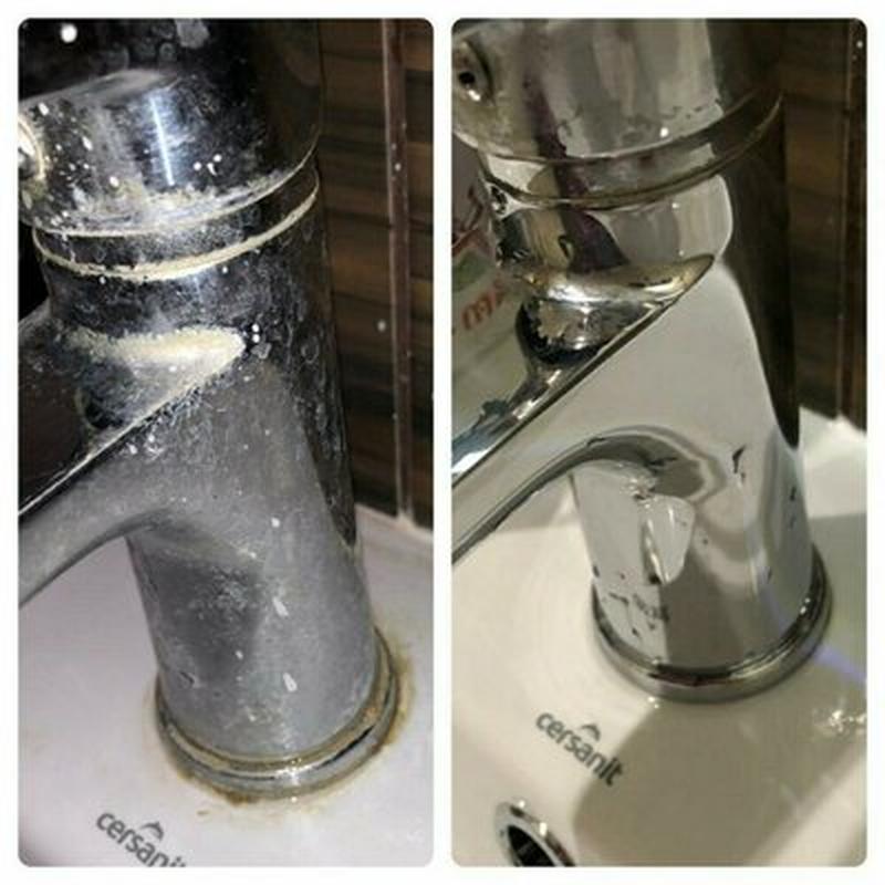 Эффективные способы убрать известковый налет с крана