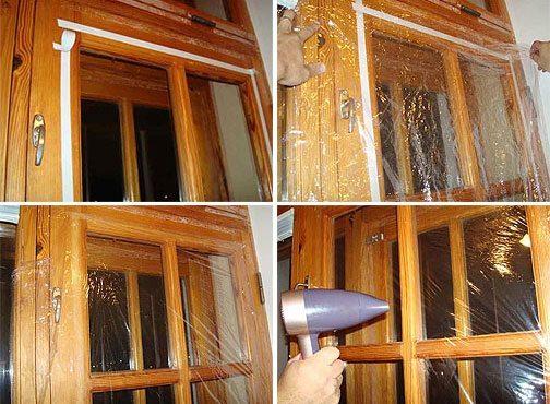 Как утеплить деревянные окна на зиму эффективные материалы