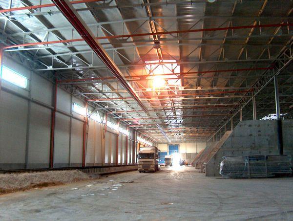 Промышленное отопление - купить систему воздушного отопительного оборудования в москве