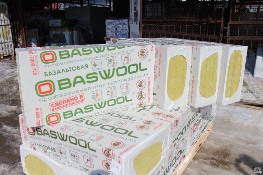 Басвул (baswool) утеплитель: характеристики и область применения