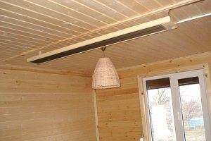 Инфракрасный потолочный обогреватель — с терморегулятором, электрический, пленочный, стеклянный – отзывы, правда и мифы