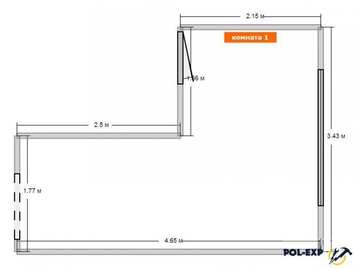 Как посчитать площадь комнаты, стен, пола, потолка? формула расчета