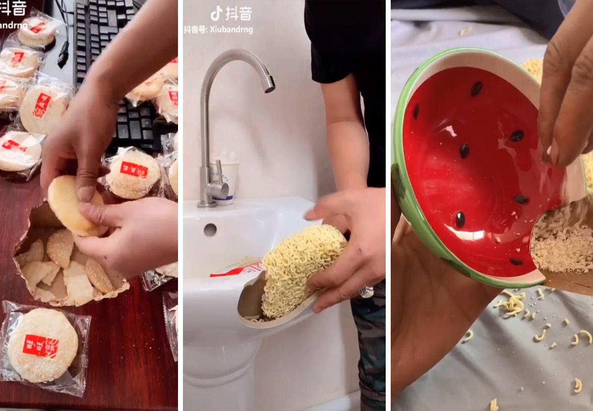 """Как починить стол""""дошираком"""": ремонт мебели с помощью еды, видео"""