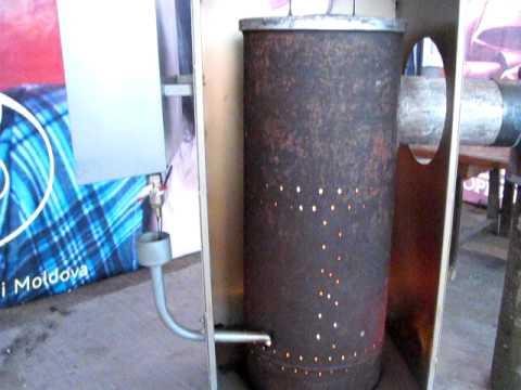 Как устроен котел на отработанном масле с водяным контуром – изготовление своими руками и эксплуатация