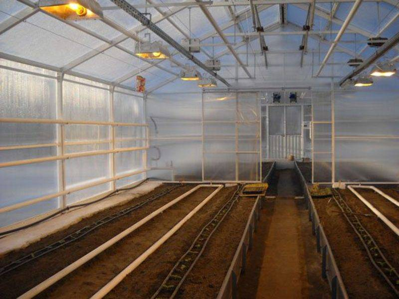 Отопление теплицы из поликарбоната зимой: устройства и схемы обогрева конструкции, системы для разного климата
