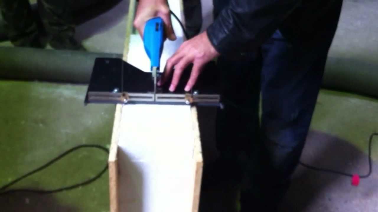Как качественно разрезать пенопласт в домашних условиях