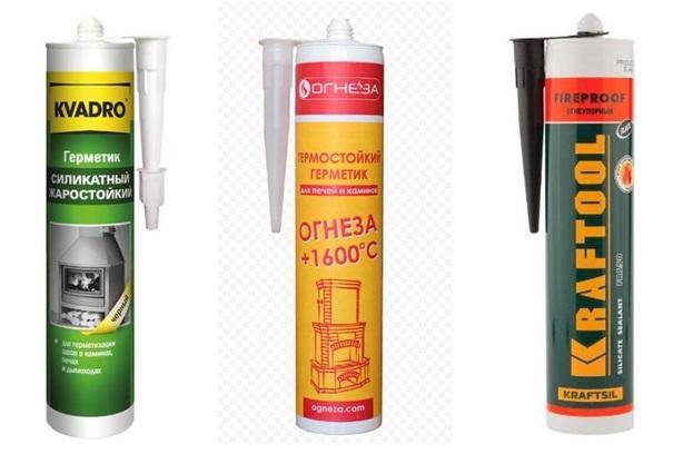 Термостойкий герметик для дымохода: рекомендации по выбору