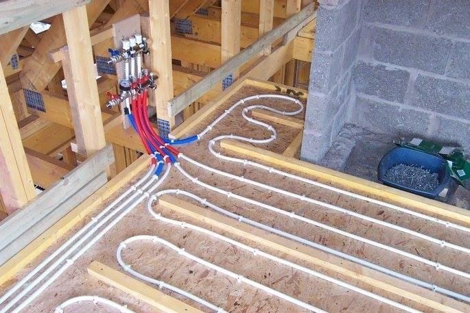 Как сделать электрический теплый пол в деревянном доме