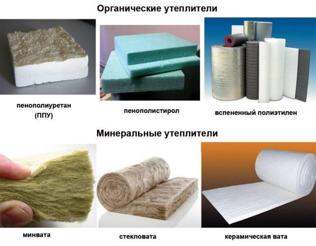 Утеплительные материалы для дома и их виды, технические характеристики, руководство по выбору
