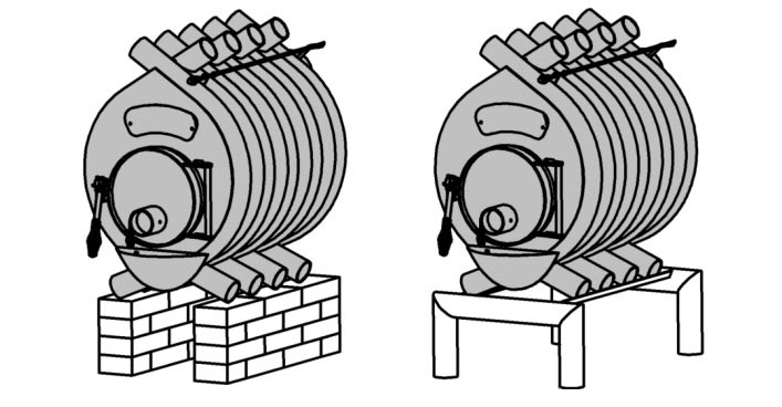 Какую печь булерьян выбрать для дачи или загородного дома?