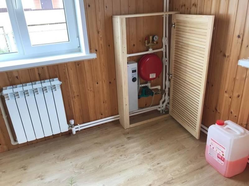 Цена отопления дом 100 м.кв.