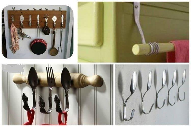 Крючки для вешалки своими руками: оригинальные идеи, пошагово