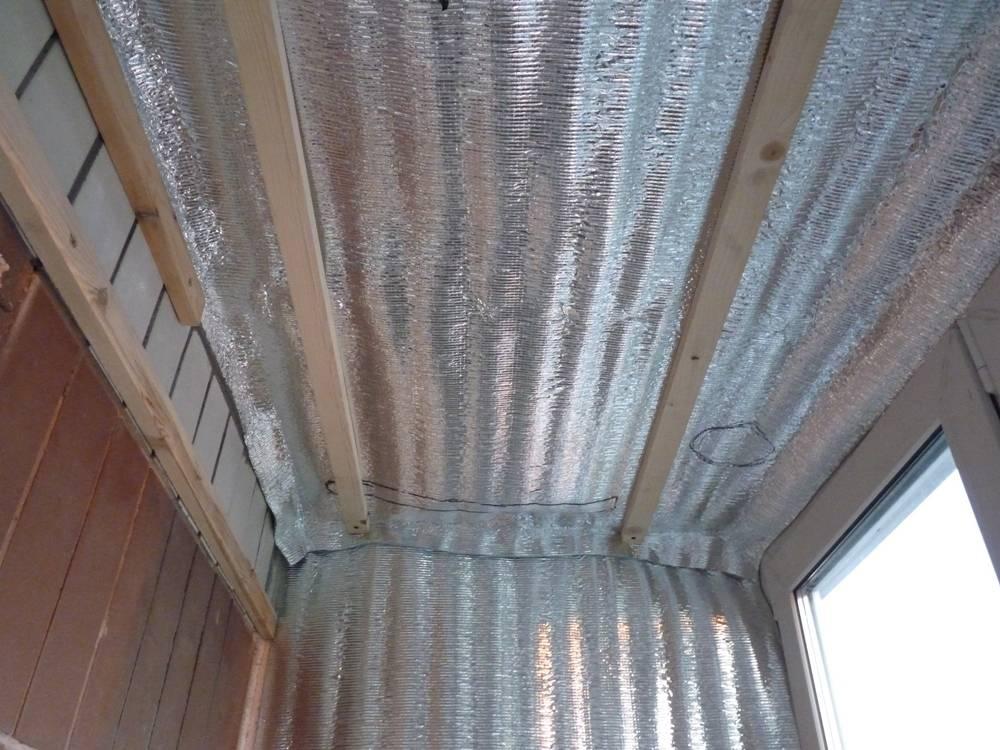 Как утеплить балкон и лоджию пенофолом своими руками