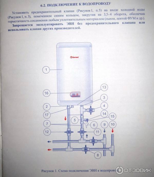 Схема подключения термекс - tokzamer.ru
