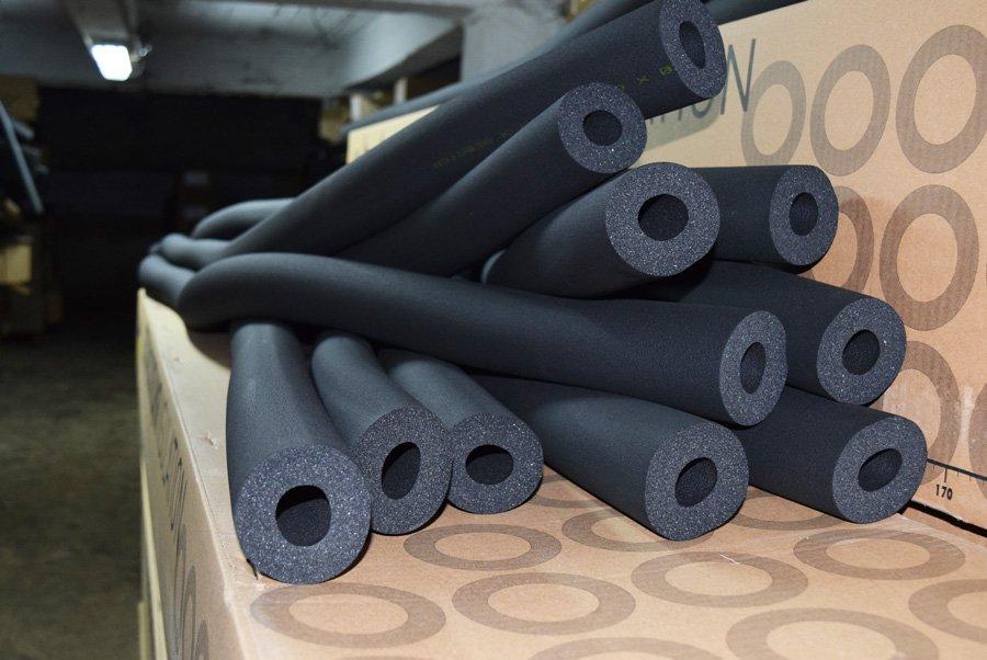 Теплоизоляционные трубки из вспененного каучука k flex: каучуковая теплоизоляция, видео-инструкция по монтажу своими руками, фото и цена
