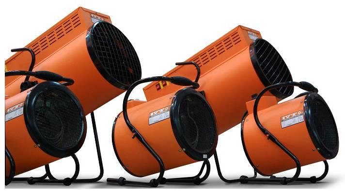 Электрические тепловые пушки: виды и лучшие модели