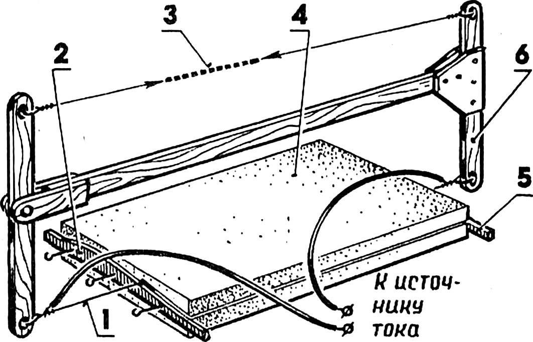 Резак для пенопласта - терморезак из подручных материалов. жми!