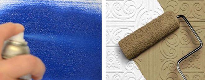 Чем покрасить пенопласт – технология окрашивания