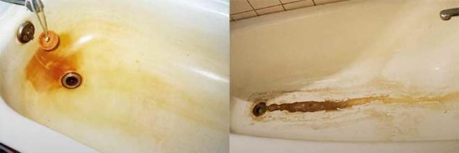 Как вернуть ванной белоснежный вид: избавляемся от желтизны