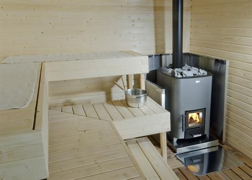 Финские печи для бани на дровах