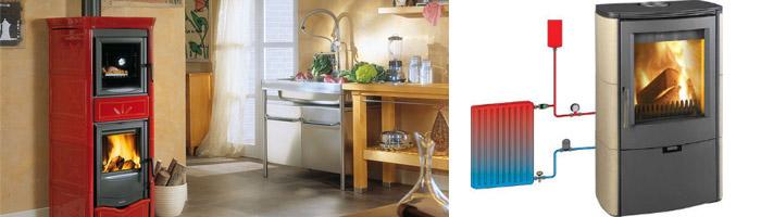 Печи и котлы для отопления дома с водяным контуром