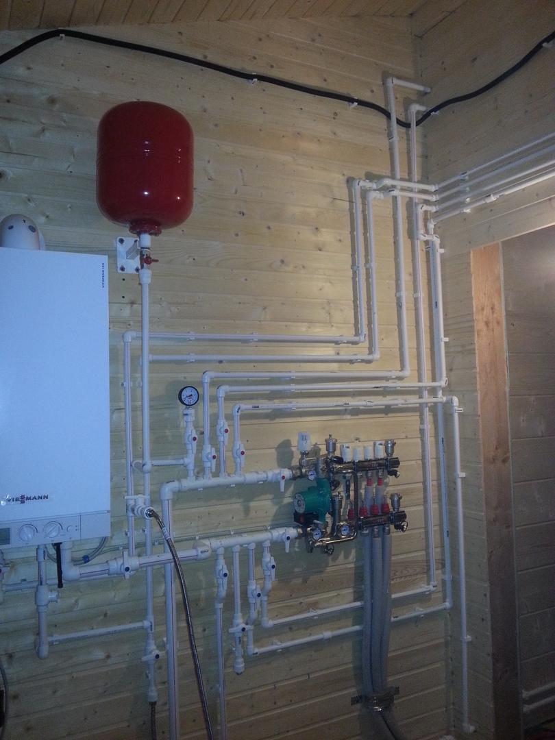 Делаем водяной теплый пол от газового котла