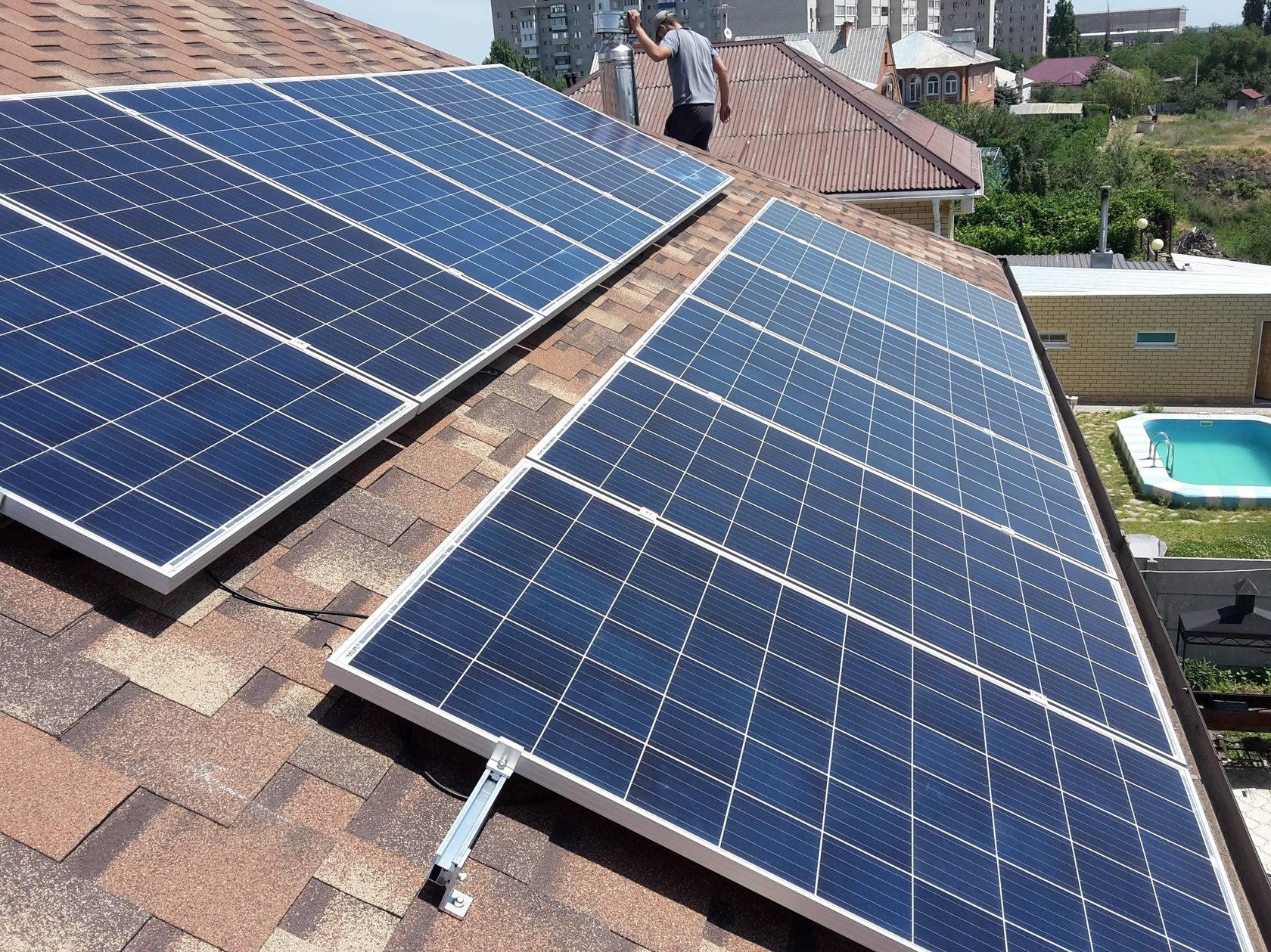 Солнечные батареи (67 фото): принцип работы панелей, готовые комплекты российского производства для частного дома
