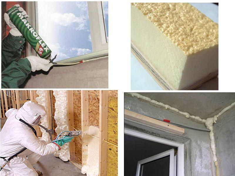 Пена для утепления стен: монтажный утеплитель в баллонах, полиуретановые варианты для крыши и фасада дома, инструкции по нанесению