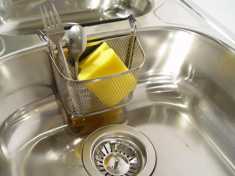 Отмываем посуду быстро и просто